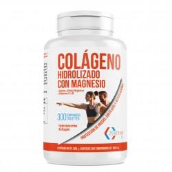 Colágeno hidrolizado con calcio para huesos y articulaciones | Colágeno con vitamina C y vitamina D para ayudar a la energía del día a día- (300)