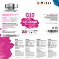 Pack 2   Colágeno con Ácido Hialurónico y Q10 Qualnat 90 cap.
