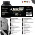 Pack 2   L- Creatina Sport Premium Monohidrato   Qualnat