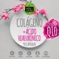 Colágeno con ácido hialurónico, vitamina C, zinc y Q10