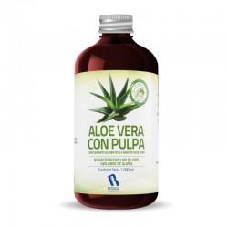 Jugo Aloe Vera   Producto a base de Jugo de Aloe Vera Con Pulpa - 1 Litro