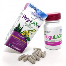 Regulaxol + Aloe Vera | Regularidad Intestinal | Adelgazante Natural | 30 Cápsulas | Zentrum