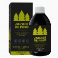 Jarabe de Pino | Pack de 2 | Complemento Alimenticio con Vitamina C , Propóleo y Minerales | 100% Natural | 500ml | Nature Smart
