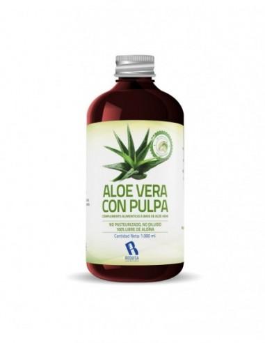 Jugo Aloe Vera Con Pulpa 1 Litro