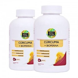 2x1 OFERTA BLACK | Cúrcuma cápsulas + pimienta negra + Bioperina | Fortalece el sistema inmune alta | potente antioxidante. 180 cápsulas.