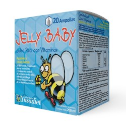 Jalea Real para niños – Jalea Real con propóleo infantil – jelly baby – 10 viales