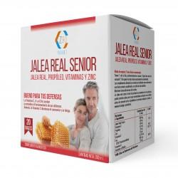 Jalea Real con Propóleo – Jalea Senior Con Vitamina C- Vitamina E y Zinc – Aumenta Tus Defensas – Mayor Vitalidad – 20 viales – Z90