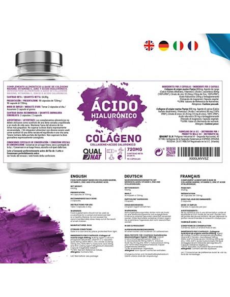 Colágeno Hidrolizado con Magnesio Zentrum 450 comprimidos