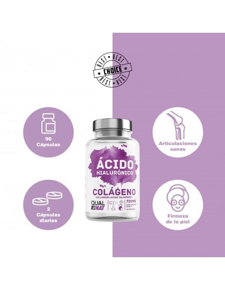 Creatina Monohidrato | L-Creatina | Suplemento | 180 Comprimidos - Qualnat