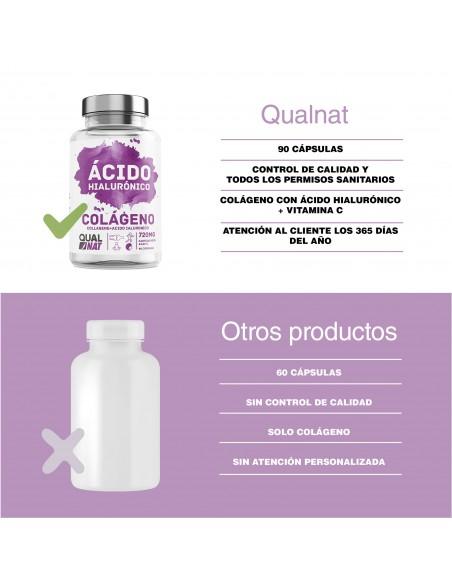 BCAA con Vitaminas B2 y B6 | Suplemento Deportivo | 240 Cápsulas - Qualnat