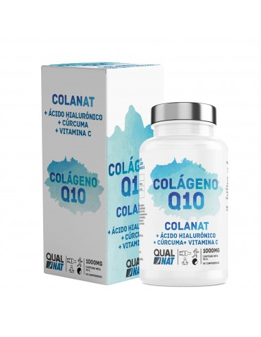 Colágeno con ácido hialurónico Q10...