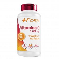 Vitamina C | Vitamina C pura Altamente Concentrada| Mantiene y Refuerza las Defensas | Suplemento Alimenticio 100% Natural | 60 Comprimidos