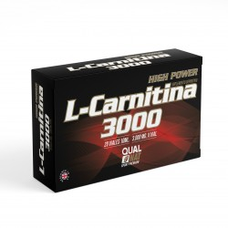 L Carnitina 3000 | L-Carnitina Líquida | L-carnitina Con Vitamina C | Suplemento Deportivo |20 Viales - Qualnat