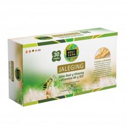 Jaleging Aquisana con Propóleo | Ginseng Rojo | Vitamina B6 y Vitamina B12 | Más Energía y Refuerza- Alergenos: fructosa