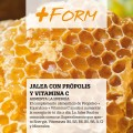 Jalea Real | Propoleo + Echinacea + Vitamina c + Vitamina e + B5 | 90 cápsulas | + Form