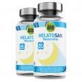 Melatosan-Aquisana | Melatonina + Valeriana + Pasiflora +melisa -- Relajante natural - Libre de Alérgenos-(120 CAP)